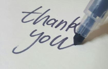 מדוע להוקיר תודה לתורמים?